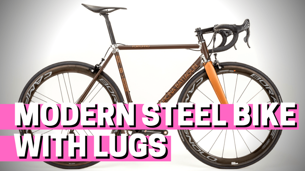 [VIDEO] How to make a modern steel bike with lugs: behind the scenes of the Portofino project