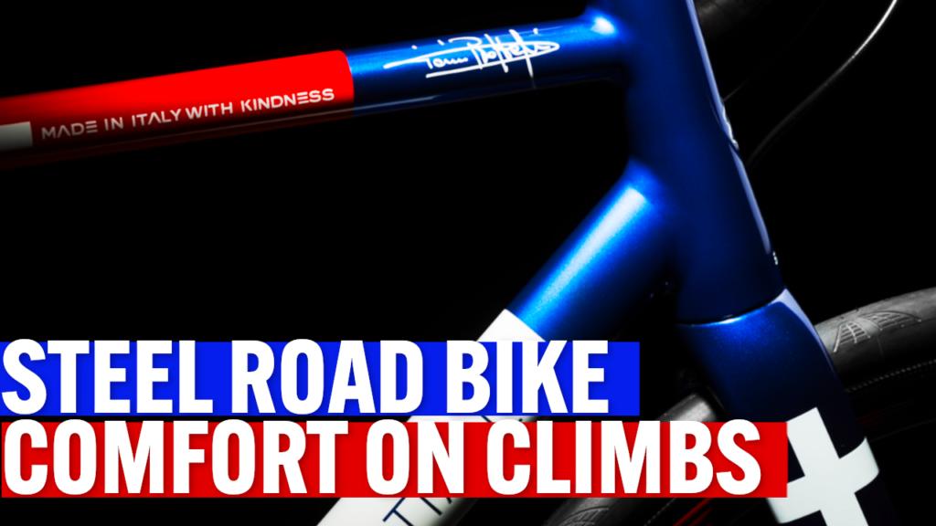 [VIDEO] A custom steel road bike to improve comfort on long climbs | Custom Bike of the Week