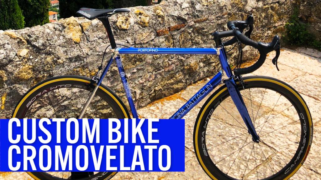 [VIDEO] NEW custom bike with AMAZING CROMOVELATO finish!