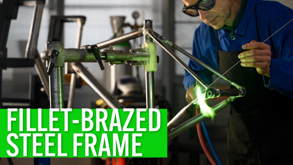 [VIDEO] How a fillet-brazed custom steel frame is made