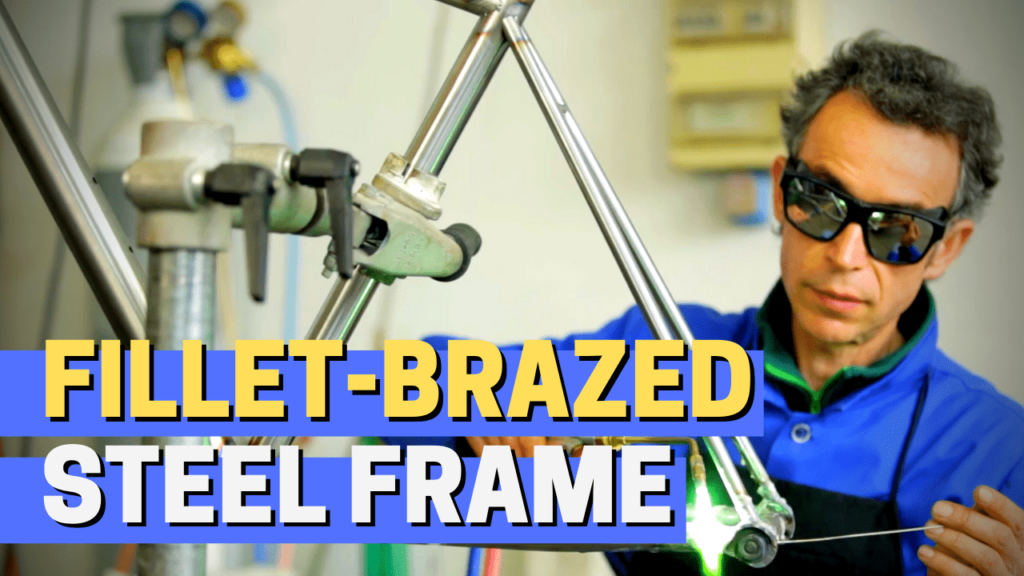 [VIDEO] How a fillet-brazed custom steel frame is made