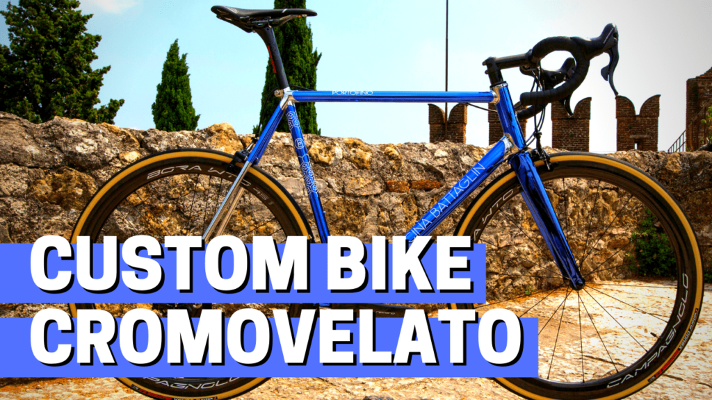 [VIDEO] NEW custom bike with AMAZING CROMOVELATO finish!