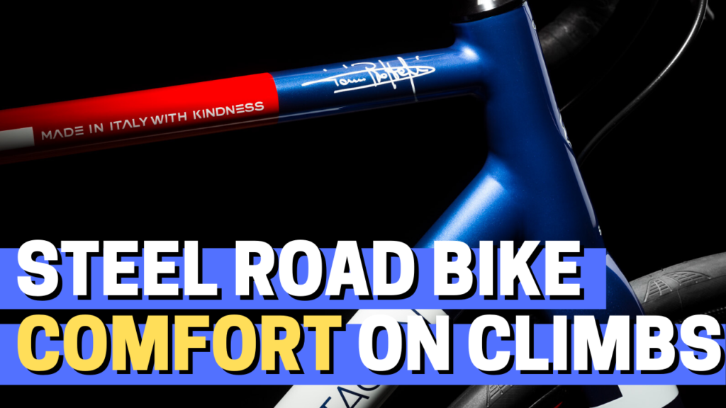 [VIDEO] A custom steel road bike to improve comfort on long climbs | Custom Bike of the Week