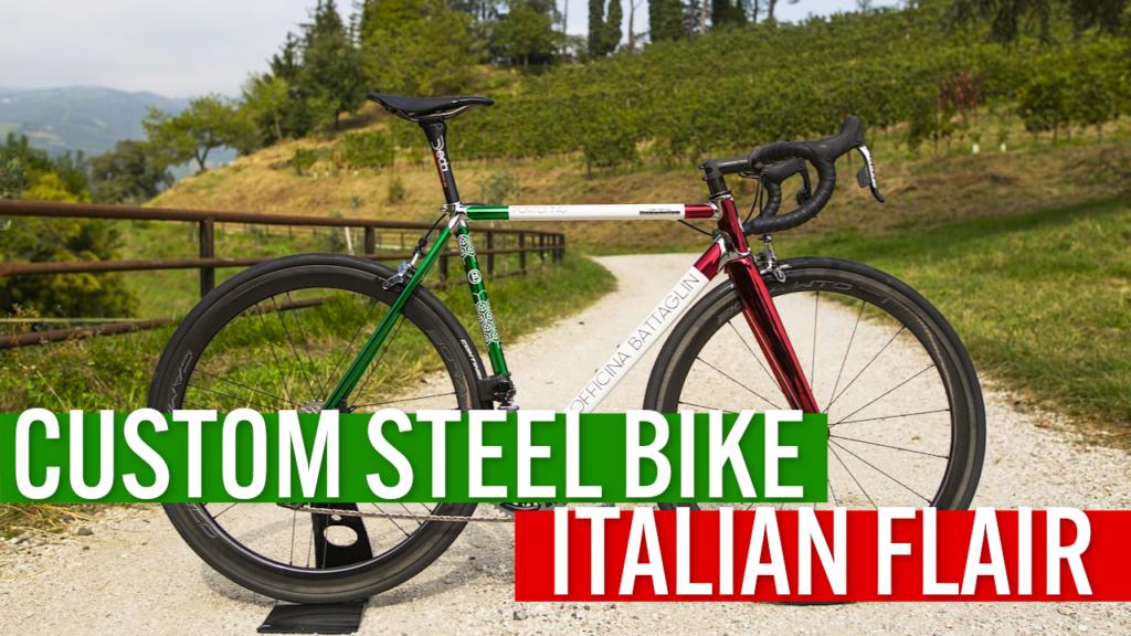[VIDEO] This custom steel bike has a distinctive Italian flair