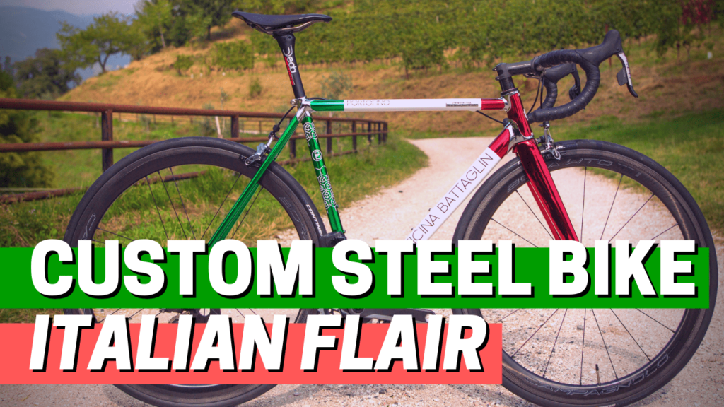 [VIDEO] This custom steel bike has a distinctive Italian flair