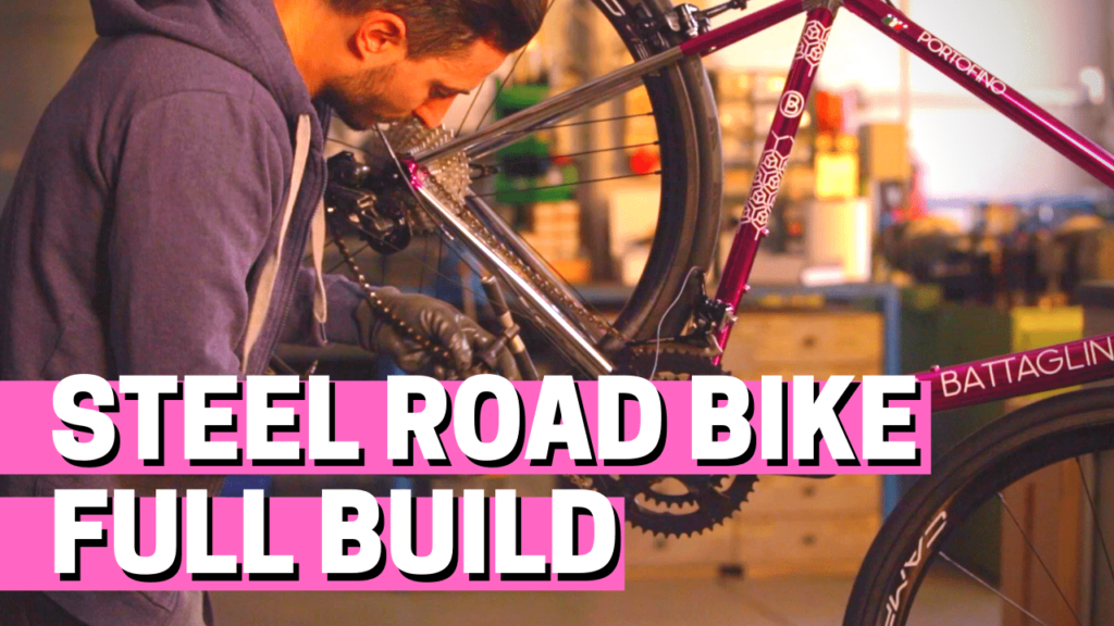 [VIDEO] From bare frame to Italian dream bike