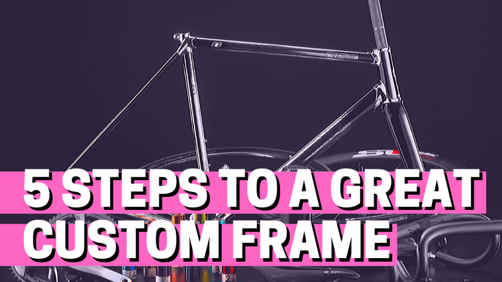 [VIDEO] Building a steel road bike: 5 steps to a great custom frame