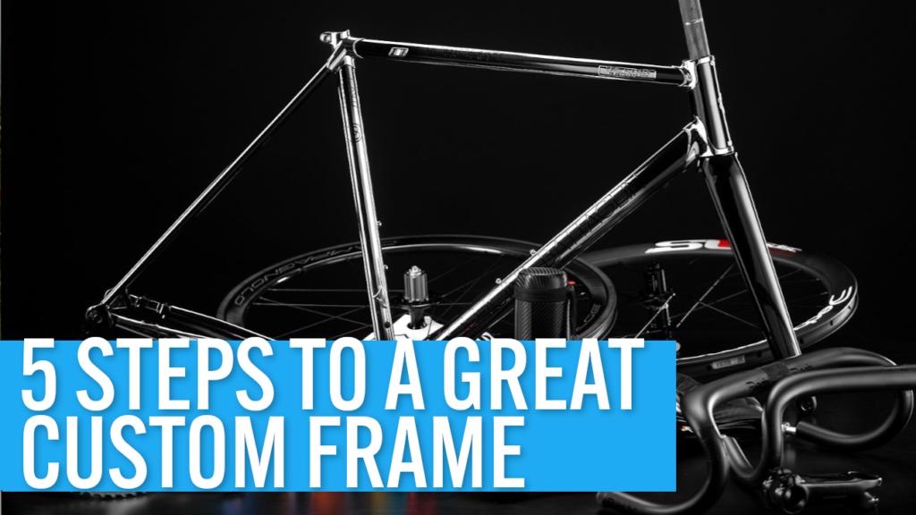 [VIDEO] Building a steel road bike: 5 steps to a great custom frame