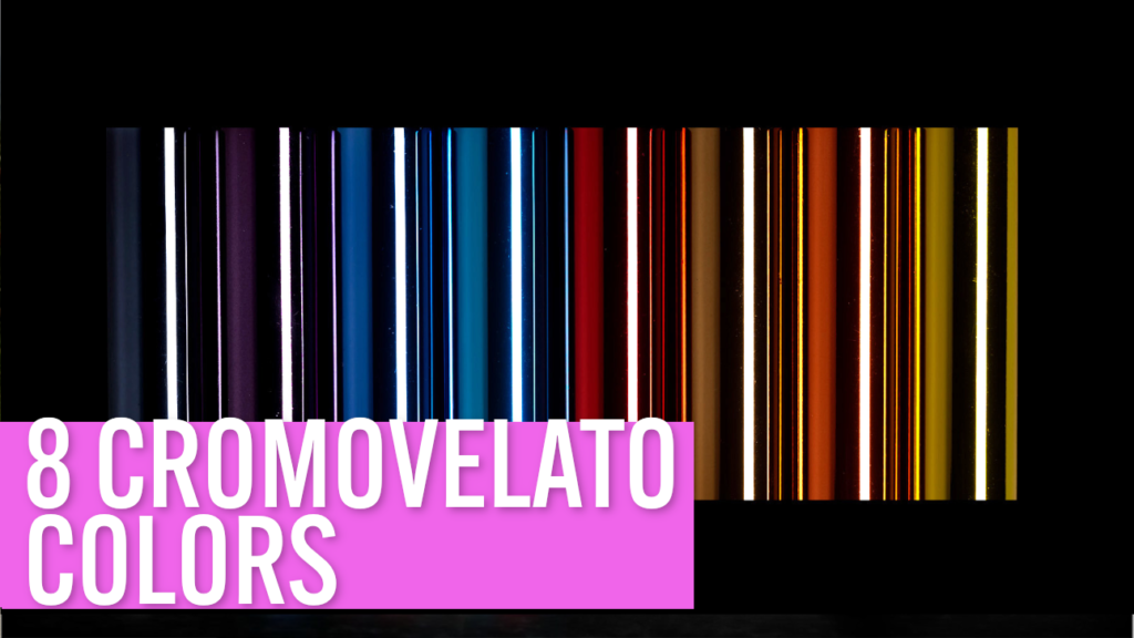[VIDEO] Building a steel road bike: 8 special CROMOVELATO colors for your custom frame