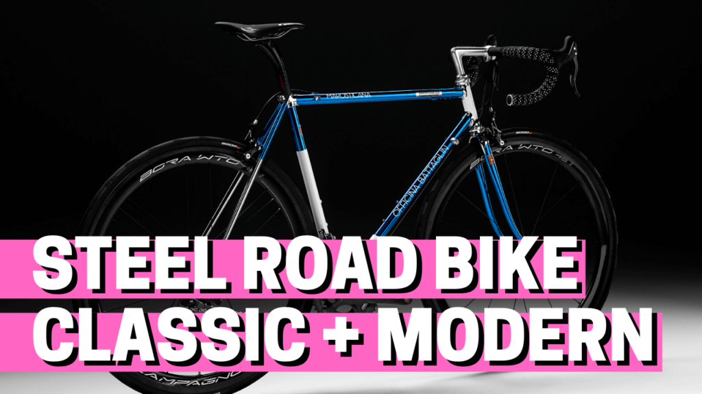 [VIDEO] How to build your steel road bike from a classic frame and modern components