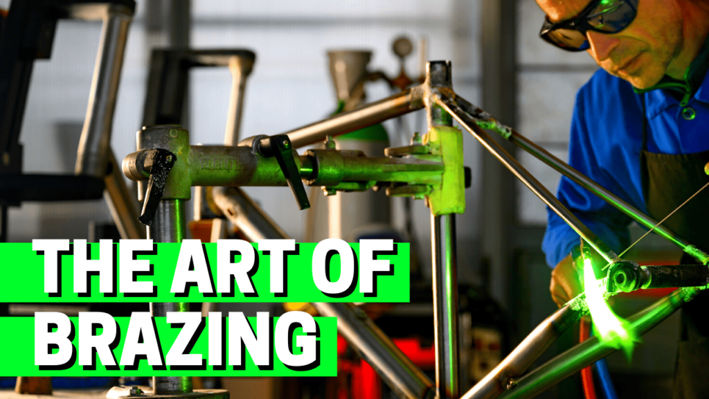 [VIDEO] Building a STEEL BIKE FRAME: The Art of Brazing