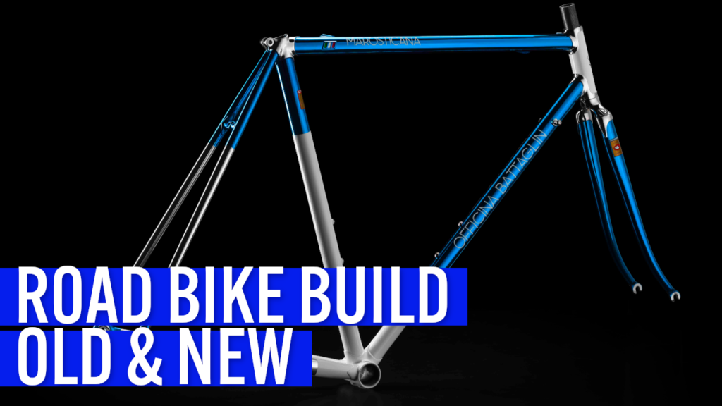 [VIDEO] This ROAD BIKE BUILD blends the BEST STEEL TUBING from the 80s with MODERN parts!