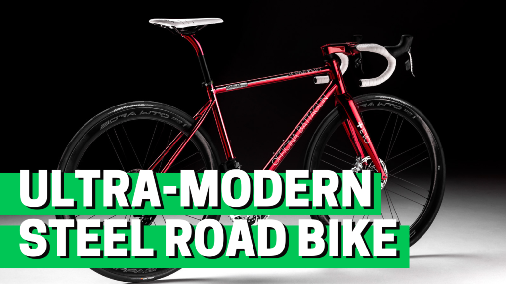[VIDEO] This ultra-modern STEEL ROAD BIKE has no visible cables!