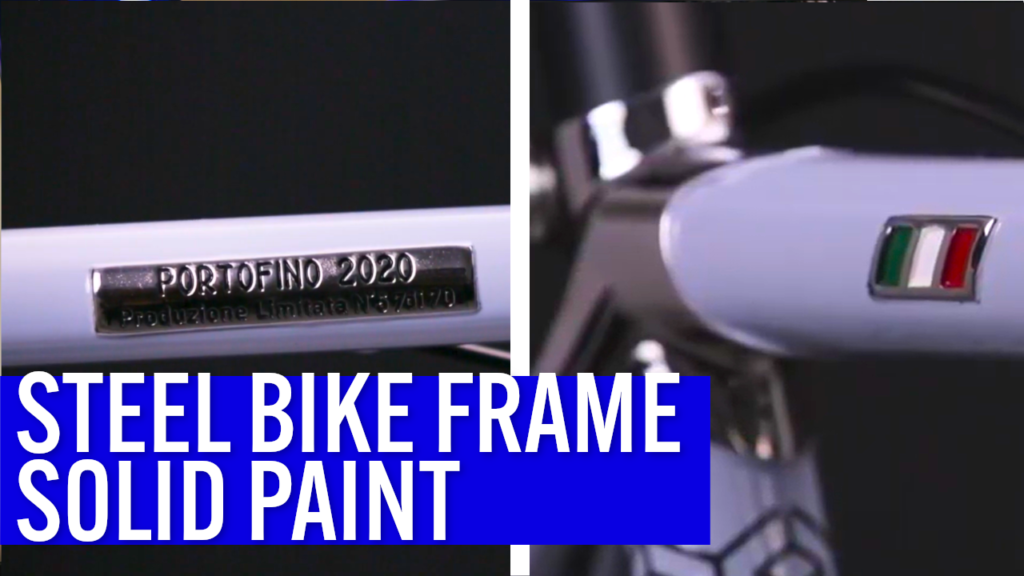 [VIDEO] What kind of PAINT should you use on your CUSTOM BIKE FRAME when you don't like shiny colors? Look at this build!