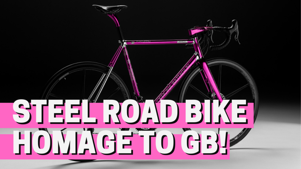 [VIDEO] This stunning STEEL ROAD BIKE pays HOMAGE to a LEGEND of Italian cycling!