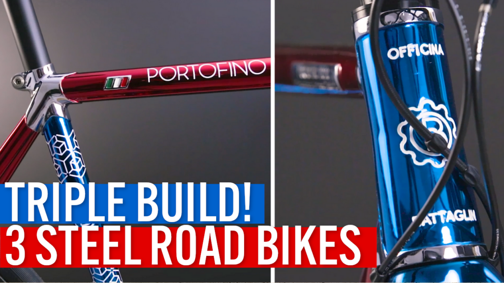 [VIDEO] Triple STEEL ROAD BUILD! Why these 3 custom Portofinos feature the same bespoke paint scheme