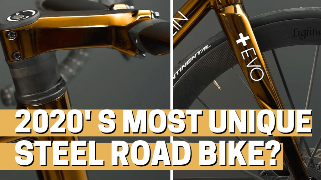 [VIDEO] Is this the most unique STEEL ROAD BIKE built in 2020?